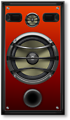 Studio Speaker 1 Orange Grill