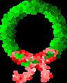 Dot Wreath