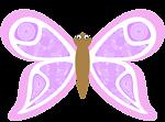 cartoon butterfly kp8