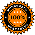 Money Back Guarantee Sticker