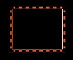 worldlabel.com border orange Black 4x3.3
