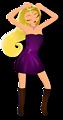 Glamorous Lady Dancing 2