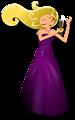 Glamorous Lady Dancing