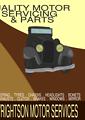 Vintage Car Poster 1