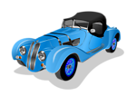 BMW 328 Roadster 1938 (blue)
