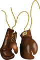Vintage Leather Boxing Gloves