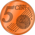 five euro cent