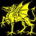 dragon passant