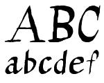 Calligraserif Regular Font