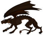 La criatura de la oscuridad