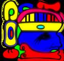Craneo de kacique indigena