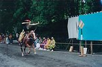 From the 1000 Samurai Festival in Nikko in May