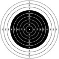 Conversion of :Image:10 m Air Rifle target 2.jpg to an SVG.