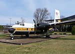 C7 Caribou at the US Army Transportation Museum, Fort Eustis, VA.  Licensing:  Category:Images of airplanes