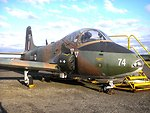A BAC Strikemaster of the RNZAF, stored outside at Ohakea, photographed in May 2007, 14 years after the type was retired. Category:Images of military aircraft