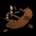 RPG map symbols: Shipwreck