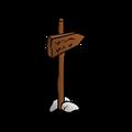 RPG map symbols: Roadsign