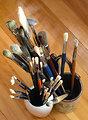 Paint brushes Deutsch:  Pinsel