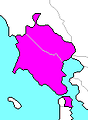 Map of California's 3rd State Senate district