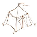 RPG map symbols Tent 1