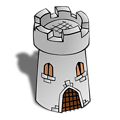 RPG map symbols: Round Tower