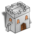 RPG map symbols: Tower Square
