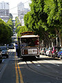 Cable car #24 in San Francisco in 2005. Taken using a Nikon Coolpix 4500.