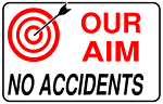 Our aim no accidents (simple)