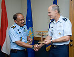 Air University inducts Indonesian air force chief into international honor roll