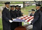 Maj. Gen. Jeanne M. Holm Funeral