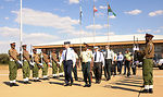 Air Forces Africa officials visit Botswana