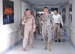 Air Combat Command leaders visit wounded warriors in Landstuhl Regional Medical Center