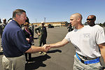 Secretary Donley visits mobility air forces competition