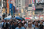 Air Force Week Now Showing in Times Square