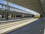 Cais do Sodré railway station in Lisbon Русский:  Лиссабон, станция Каиш-ду-Содрэ