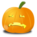 Sad pumpkin