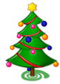 Colored: Christmas Tree
