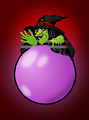 Colored: Crystal ball