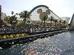 California Screamin' & Paradise Pier Area Photograph taken in 2002