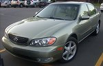 2002-2004 Infiniti I35 photographed in Montreal, Quebec, Canada.