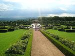 Gardens of Eyrignac Manor, in Dordogne (France). Français�:  Jardins du Manoir d'Eyrignac, en Dordogne (France).