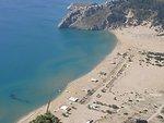 Ελληνικά:  Παραλία Τσαμπίκα Tsambika beach, Rhodes