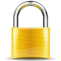 padlock gold