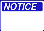 Notice - Blank