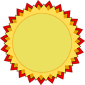 Blank Award of Medal and Achievement