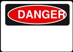 Danger - Blank