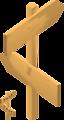 Blank Arrow Sign