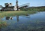Historic gold dredge, Seward Peninsula
