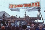 Iditarod Trail finish line, Nome