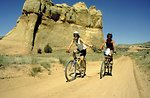 Mountain Biking on the Kokopelli Trail.